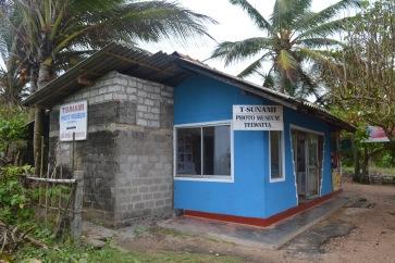 Het Tsunami museum langs buiten