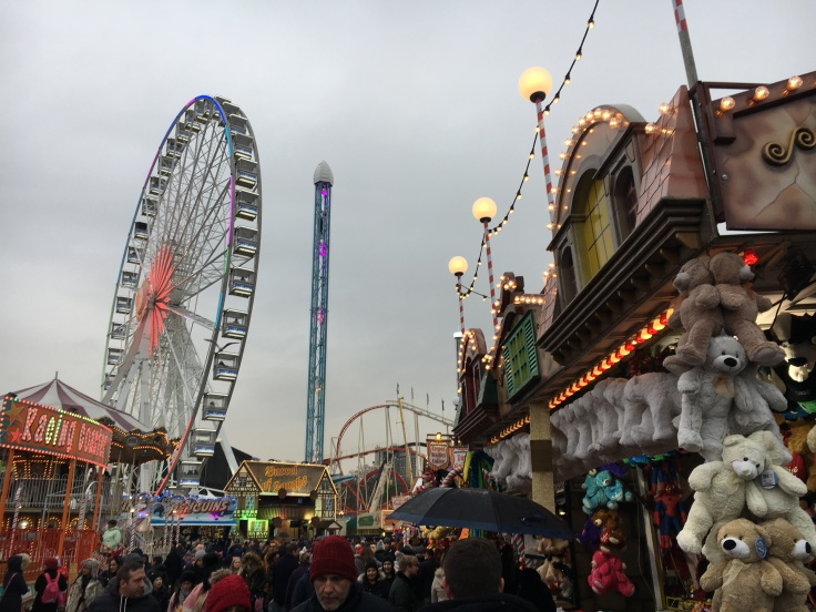 Attracties op Winter Wonderland